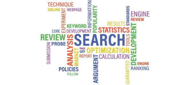 How does ranking on the search engines work